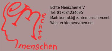 Logo mit Info schlicht
